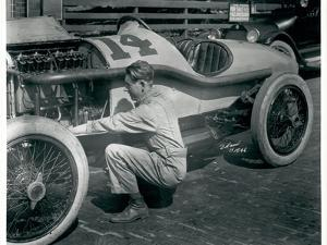Harry Hartz and No.14 Racecar, 1919 by Marvin Boland