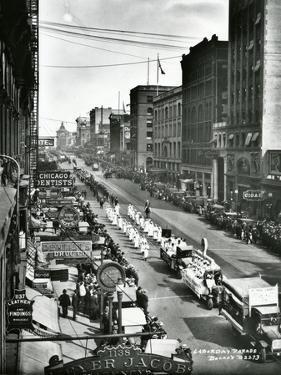 Labor Day Parade, Tacoma, WA, 1919 by Marvin Boland