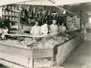 Meat Markets, 1928 by Marvin Boland