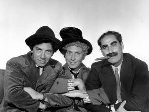 Marx Brothers - Chico Marx, Harpo Marx, Groucho Marx