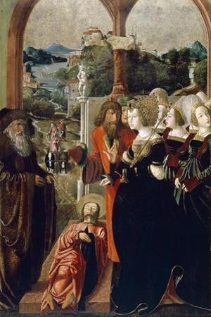 The Body of St. James Brought before Queen Lupa of Spain