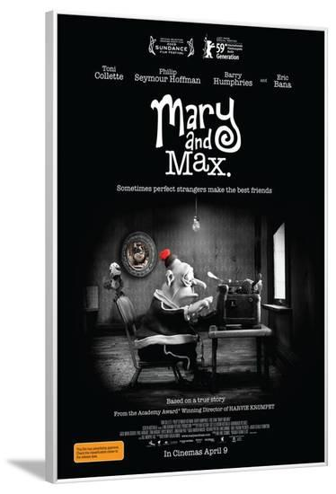 Mary and Max - Australian Style--Framed Poster