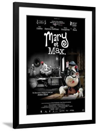 Mary and Max - French Style--Framed Poster