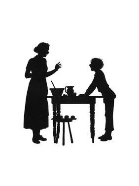 Dunderpate and His Mother with the Baking by Mary Baker
