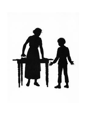 Dunderpate and His Mother with the Ironing by Mary Baker