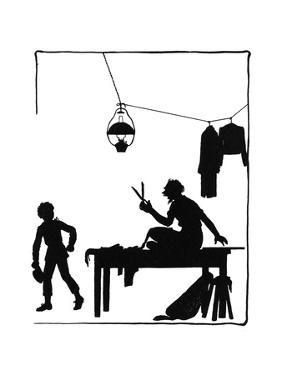 Dunderpate Speaks to the Tailor by Mary Baker