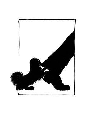 Koko the Pekinese Dog with Postman's Leg by Mary Baker