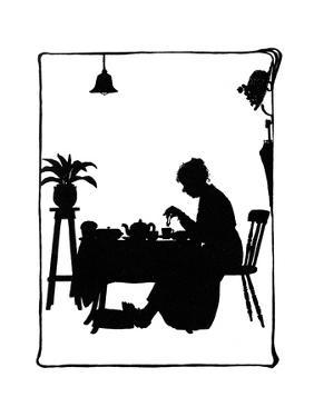 Mrs Bobbity Sitting at the Breakfast Table by Mary Baker