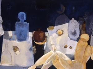 Blue Nude by Mary Calkins