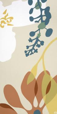Dancing Flowers II by Mary Calkins