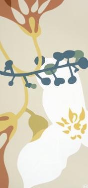 Dancing Flowers III by Mary Calkins