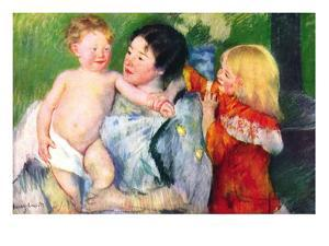 After The Bath by Mary Cassatt