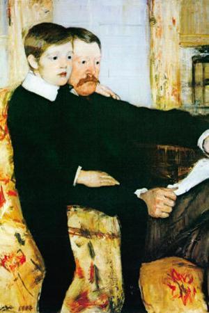 Alexander Cassatt and Robert Kelso Cassatt by Mary Cassatt