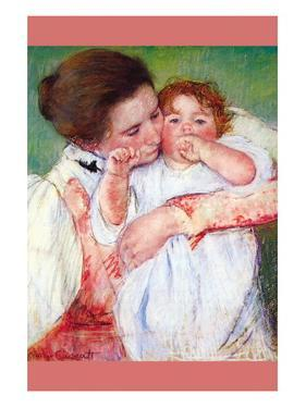 Anne Klein, From The Mother Embraces by Mary Cassatt