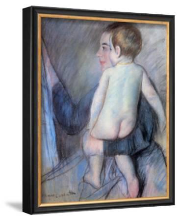 At the Window by Mary Cassatt