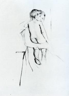 Baby's Back by Mary Cassatt