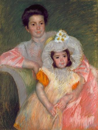 Cassat: Woman & Girl, C1902 by Mary Cassatt