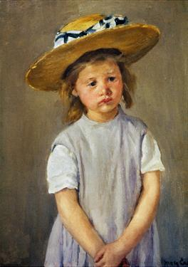 Cassatt: Girl, C1886 by Mary Cassatt