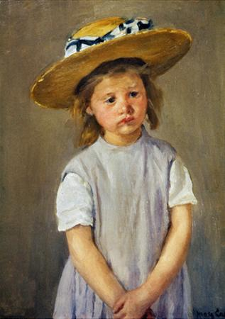 Cassatt: Girl, C1886 by Mary Cassatt