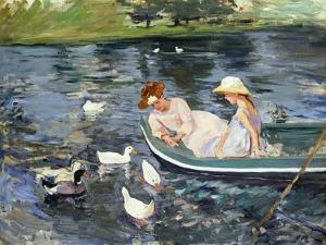 Cassatt: Summertime, 1894 by Mary Cassatt