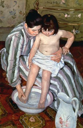 Cassatt: The Bath, 1891-2 by Mary Cassatt