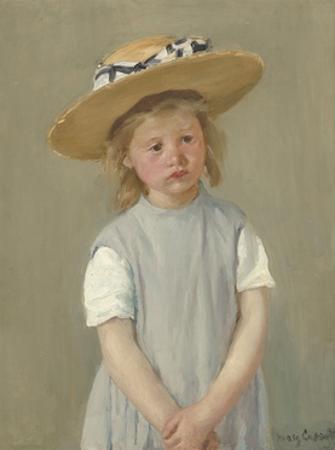 Child in a Straw Hat, 1886 by Mary Cassatt