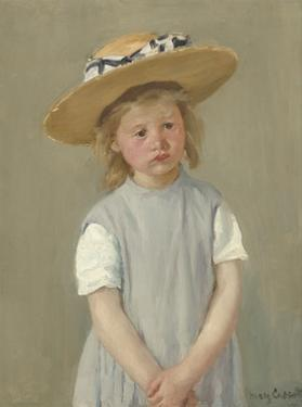 Child in a Straw Hat, 1886 by Mary Cassatt