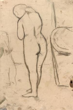 Drawing for Standing Nude, C.1879 by Mary Cassatt