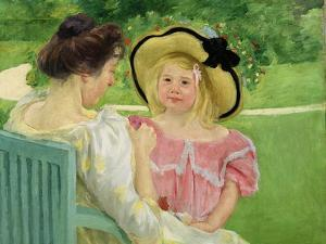 In the Garden, 1903/04 by Mary Cassatt