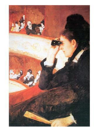 In The Opera by Mary Cassatt