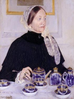 Lady at the Tea Table, 1883-5 by Mary Cassatt