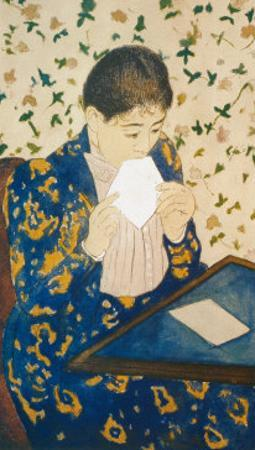 Letter by Mary Cassatt