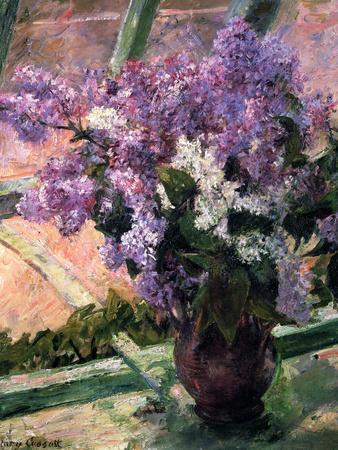 Lilacs in a Window, C1880