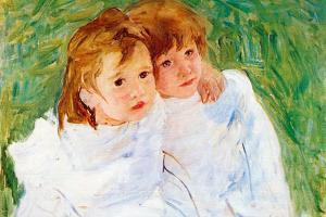 Mary Cassatt The Sisters by Mary Cassatt