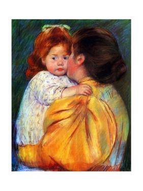 Maternal Kiss, 1896 by Mary Cassatt