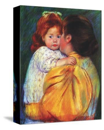 Maternal Kiss, c,1896 by Mary Cassatt