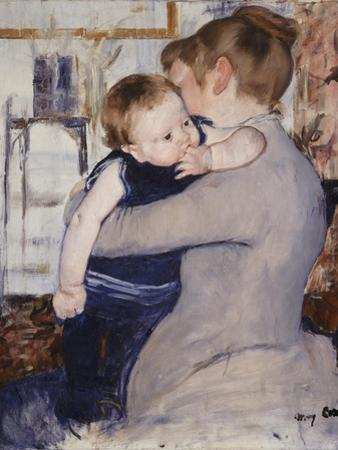 Mother and Child, C.1889 by Mary Cassatt