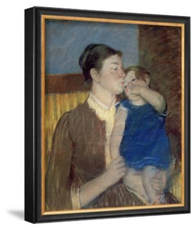 Mother's Goodnight Kiss by Mary Cassatt