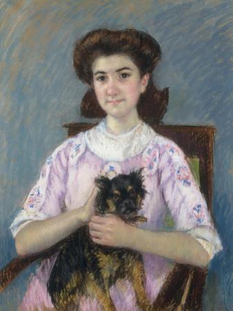 Portrait de Marie-Louise Durand-Ruel, 1911 by Mary Cassatt