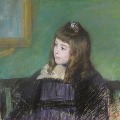Portrait De Marie-Therese Gaillard by Mary Cassatt