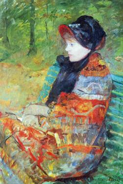 Profile of Lydia by Mary Cassatt