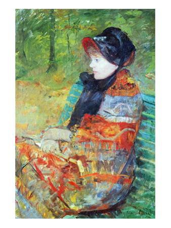 Profile of Lydia by Mary Cassatt