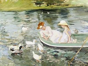 Summertime by Mary Cassatt
