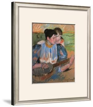 The Banjo Lesson by Mary Cassatt