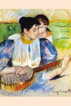 The Banjo Lesson by Mary Cassatt