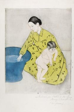 The Bath, 1890-91 by Mary Cassatt