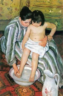 The Bath by Mary Cassatt
