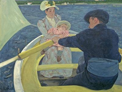 The Boating Party, 1893-94 by Mary Cassatt