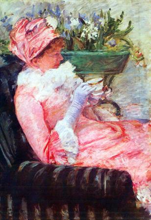 Mary Cassatt The Cup of Tea Art Print Poster