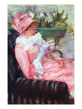The Cup of Tea by Mary Cassatt